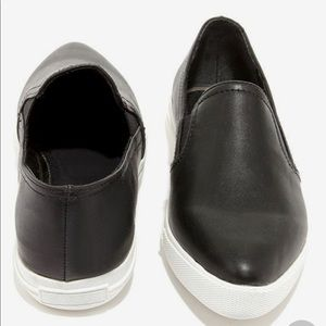9bec52e7429 Steven By Steve Madden Shoes - Steven by Steve Madden Arden Sneaker black  leather
